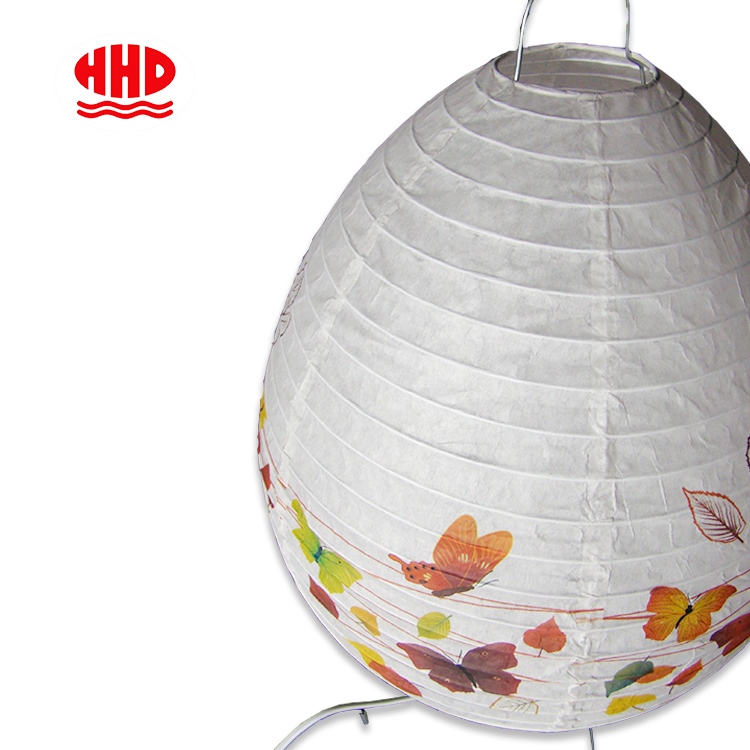 Hand Make Handmade printing Paper Table lantern Lighting