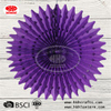 Party Hanging Round Tissue Paper Fans Decoration