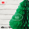 Hanging Centerpiece Tissue Paper Honeycomb Christmas Tree in Assorted Color