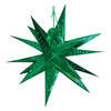 Glossy Multi Point Paper Star Light in Assorted Color Factory Bulk Sales