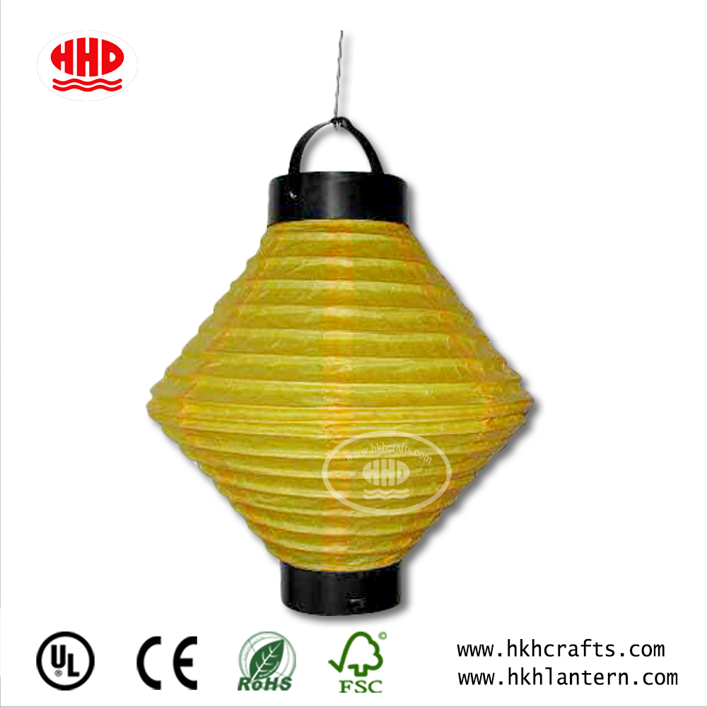 Chinese Handmade Battery Operated Led Candle Light Paper Lantern