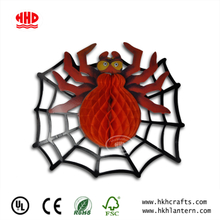 Spider Christmas Ornament Party Decoration Tissue Paper Honeycomb Ball Crafts