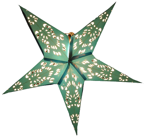 Custom Wholesale Christmas Party Favor Decoration Paper Crafts Paper Star Lantern