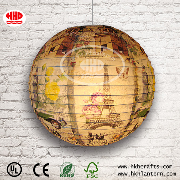 High Quality Chinese Paper Lampshades Paper Lanterns For for Indoor,Bedroom,Curtain,Patio,Lawn,Landscape