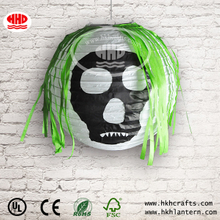 Skull rice paper Halloween lantern wholesale