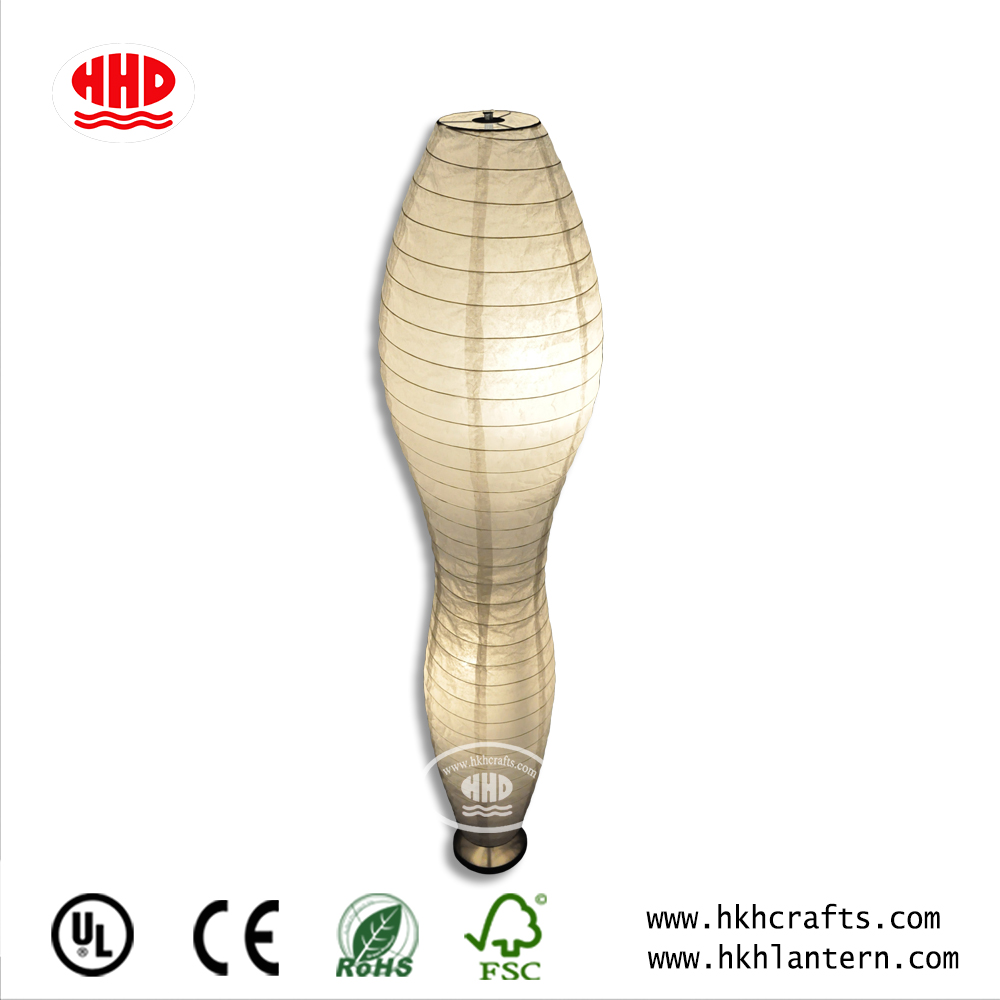 Special Design Fancy Energy-saving Paper White Floor Lamp Wholesale